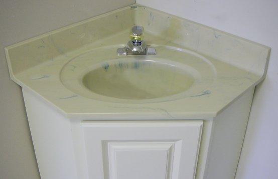 corner bathroom vanity tops. Corner vanity top Custom Vanity Tops