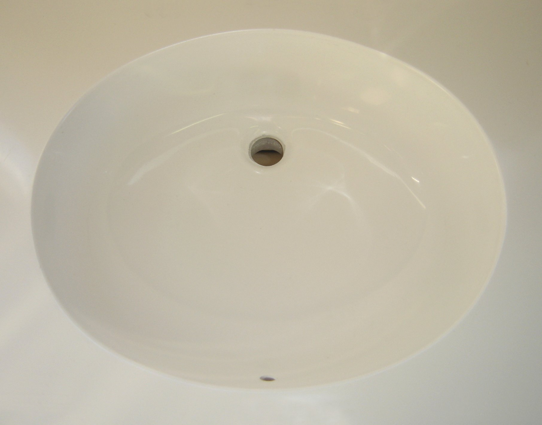 Custom oval sink