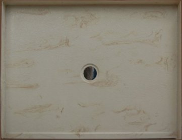 Cultured marble custom shower base for recessed installation