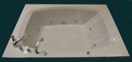 cultured marble whirlpool tub